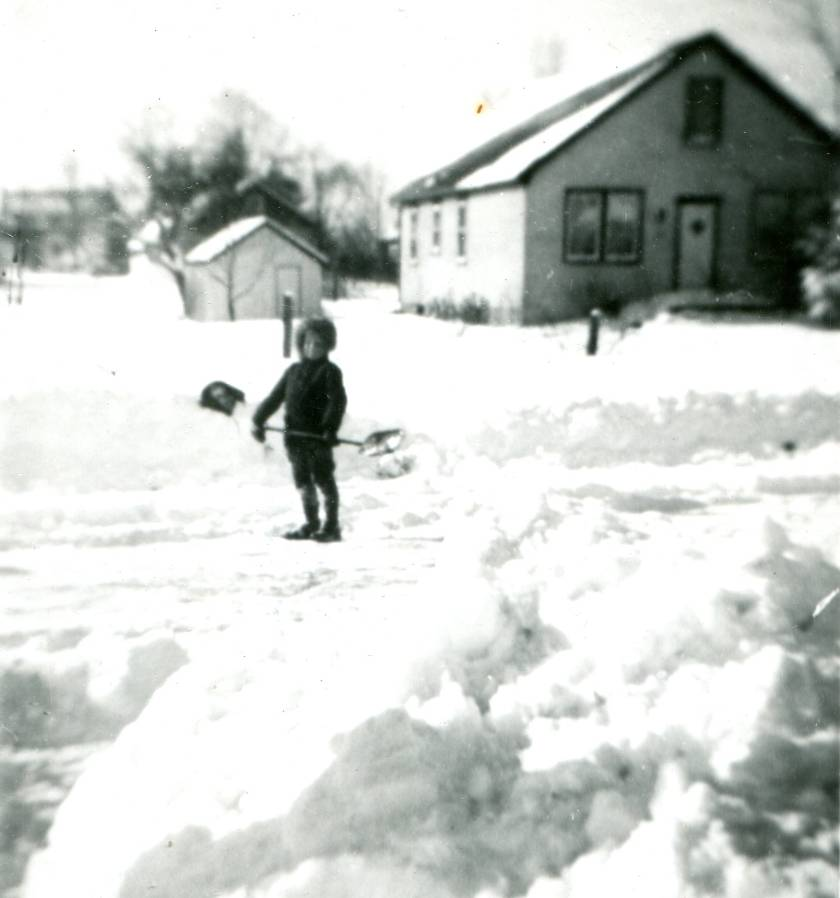 Brant Avenue (now Brock Avenue), winter 1947-1948